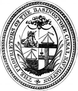 225. Basingstoke Canal Company emblem