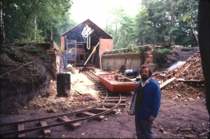 380. Lock Gate workshop. Railway. Frank Jones. 1978 REDUCED