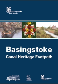 Basingstoke Canal Heritage Footpath leafle